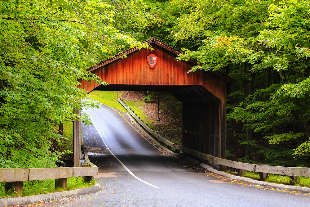 &quot;Covered Bridge at Pierce Stocking Drive&quot;<br />