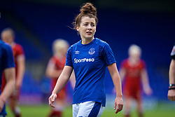 BIRKENHEAD, ENGLAND - Sunday, April 29, 2018: Everton's Angharad James during the FA Women's Super League 1 match between Liverpool FC Ladies and Everton FC Ladies at Prenton Park. (Pic by David Rawcliffe/Propaganda)