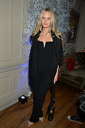 LONDON, ENGLAND 1 DECEMBER 2016: Talana Bestall at the Smythson & Brown's Hotel Christmas Party held at Brown's Hotel, Albemarle St, Mayfair, London, England. 1 December 2016.