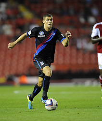 Crystal Palace's Stuart O'Keefe  - Photo mandatory by-line: Joe Meredith/JMP - Tel: Mobile: 07966 386802 27/08/2013 - SPORT - FOOTBALL - Ashton Gate - Bristol - Bristol City V Crystal Palace -  Capital One Cup - Round 2