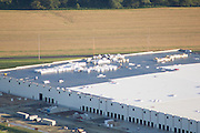 Aerial view of the Amazon Fulfillment Center<br />