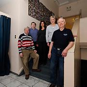 Canada, Edmonton. Feb/10/2013. McKernan Community League building renovation project. New community league team members.
