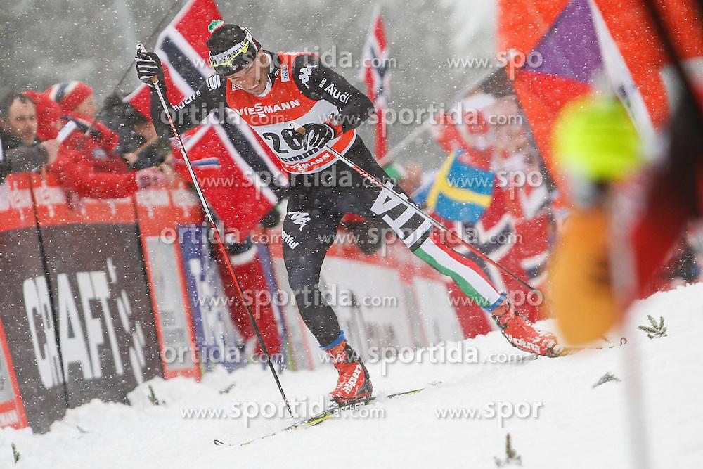 05.01.2014, Langlaufstadion, Alpe Cermis, ITA, FIS Tour de Ski, Langlauf Herren, Individual Start 9 Km, im Bild Di Centa Giorgio (ITA) // during the Men 9 km Pursuit Cross Country of the FIS Tour de Ski 2014 at the Cross Country Stadium, Lago di Tesero, Italy on 2014/01/05. EXPA Pictures © 2013, PhotoCredit: EXPA/ Federico Modica