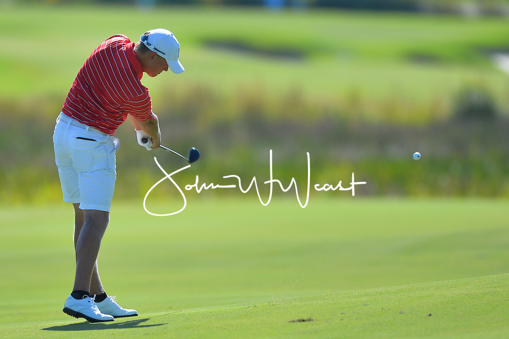 Hannes Roenneblad during  the second round of the NCAA Golf Championships at the Concession Golf Club in Bradenton, FL.