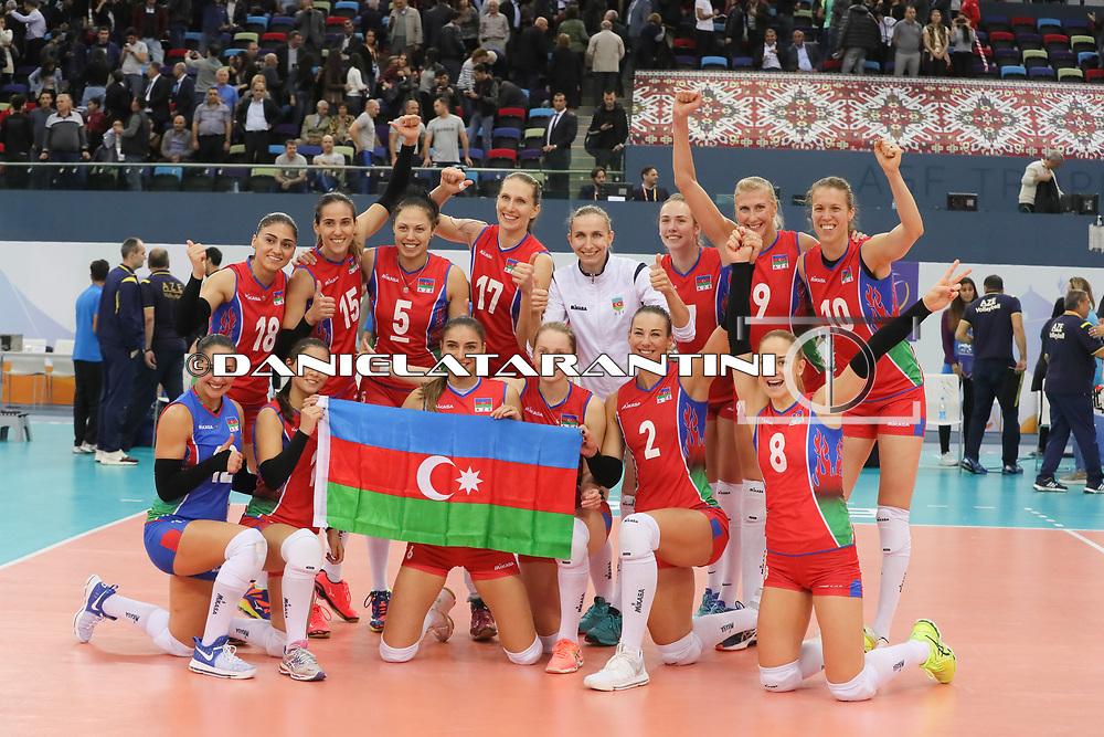 (AZE - GER CEV Volleyball European Championship - Women 2017 Europei pallavolo Quarti di Finale)