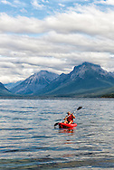 Apgar, Lake McDonald, Glacier National Park, Montana, Kayaking