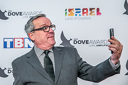 October 11, 2016 - Nashville, Tennessee, USA - Mark Lowry at the 47th Annual GMA Dove Awards  in Nashville, TN at Allen Arena on the campus of Lipscomb University.  The GMA Dove Awards is an awards show produced by the Gospel Music Association. (Credit Image: © Jason Walle via ZUMA Wire)
