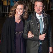 NLD/Scheveningen/20131130 - Inloop concert 200 Jaar Koningrijk der Nederlanden, prins Maurts en partner prinses Marilene