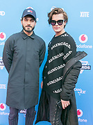 2018-03-24. Club Panama, Amsterdam. Veed Awards 2018. Op de foto: Kay Nambiar en Koen Kardashian