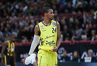 Basketball  1. Bundesliga  2017/2018  Hauptrunde  16. Spieltag  30.12.2017 Walter Tigers Tuebingen - MHP RIESEN Ludwigsburg Barry Stewart (Tigers) nachdenklich