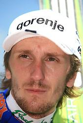 Primoz Pikl of Slovenia placed third at FIS Continental cup Ski-jumping Summer Kranj, on July 6, 2008, Kranj, Slovenia. (Photo by Vid Ponikvar / Sportal Images)<br /> <br /> / Sportida)