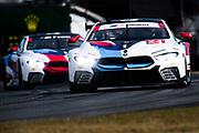 January 24-28, 2018. IMSA Weathertech Series ROLEX Daytona 24. 24 BMW Team RLL, BMW M8 GTLM, Jesse Krohn, John Edwards, Nicky Catsburg, Augusto Farfus
