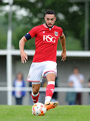 Derrick Williams of Bristol City - Photo mandatory by-line: Dougie Allward/JMP - Mobile: 07966 386802 - 05/07/2015 - SPORT - Football - Bristol - Brislington Stadium - Pre-Season Friendly