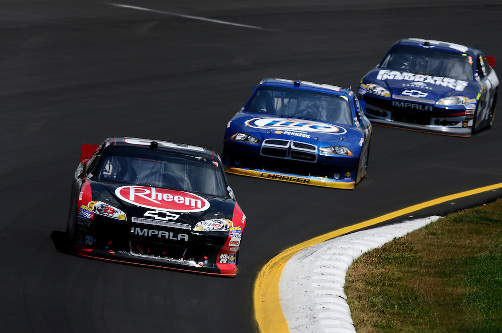 8-10 June, 2012, Long Pond, Pennsylvania USA.Kevin Harvick, Brad Keselowski, Kasey Kahne.(c)2012, Scott R LePage.LAT Photo USA