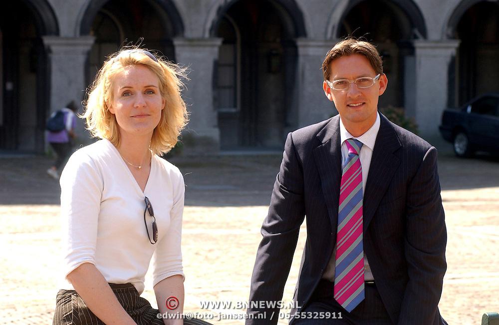 LPF 2de kamerlid Joost Eerdmans en vriendin Femke Bouma