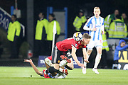 Manchester United Eric Bailly during the The FA Cup match between Huddersfield Town and Manchester United at the John Smiths Stadium, Huddersfield, England on 17 February 2018. Picture by George Franks.