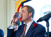 Brexit Party launch event<br /> Nigel Farage and Richard Tice, party chairman launch the next tranche of Brexit Party candidates at an event in London, Great Britain <br /> House Terrace<br /> 23rd April 2019<br /> <br /> New candidates standing for the Brexit Party in the European Parliament Elections in May 2019 <br /> <br /> Lance Forman <br /> Businessman and owner of H.Forman and Son <br /> <br /> Christina Jordan<br /> Former nurse and community leader <br /> <br /> Matthew Patten <br /> Charity Leader and CEO <br /> <br /> James Glancy <br /> Veteran and broadcaster <br /> <br /> Claire Fox<br /> Writer, free speech campaigner <br /> <br /> Photograph by Elliott Franks