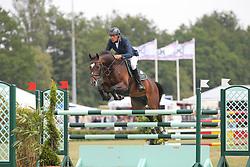 Ahlmann, Dirk, Castelan<br /> Elmshorn - Holsteiner Pferdetage<br /> Spezialspringpferdeprüfung Kl. M Finale 6j.<br /> © www.sportfotos-lafrentz.de/ Stefan Lafrentz