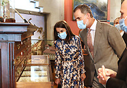 061520 Spanish Royals Visit to the National Museum of Natural Sciences