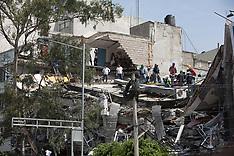 Powerful Earthquake hits Mexico City - 19 Sep 2017