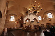 Interior of the Jewish Synagogue, Tykocin, Poland