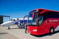 NOVI SAD - 17-08-2016, Vojvodina - AZ, Karadjordje Stadion, vertrek en aankomst,