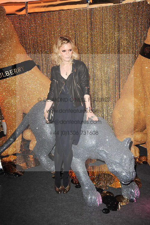 EMILIA FOX at a party to celebrate the Mulberry Autumn Winter 2010 collection held at The Orangery, Kensington Palace, London on 21st February 2010.