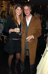 PRINCESS FLORENCE VON PREUSSEN and the HON.JAKE ASTOR at a party to celebrate the publication of Tatler's Little Black Book 2005 held at the Baglioni Hotel, 60 Hyde Park Gate, London SW7 on 9th November 2005.<br />