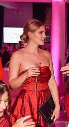 Left, Ashley James at the Floral Ball in aid of Sheba Medical Center hosted by Laura Pradelska and Zoe Hardman and held at One Marylebone, 1 Marylebone Road, London England. 14 March 2017.