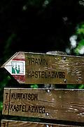 Italy, Sudtirolo. Tramin, Trameno. cantina Elena Walch, Julia Walch