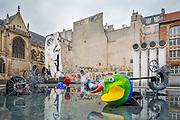 Fontaine Stavinsky près du centre Pompidou // Stavinsky fountain near Pompidou cultural and art center