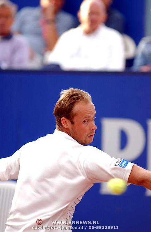 Hilversum Open 2003, Martin Verkerk - Fred Hemmes, Martin Verkerk