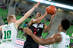 Tarence Kinsey #21 of KK Partizan during basketball match between KK Union Olimpija and Partizan Beograd in 21th Round of ABA League 2013/14, on March 9, 2014 in Arena Stozice, Ljubljana, Slovenia. Photo by Urban Urbanc / Sportida