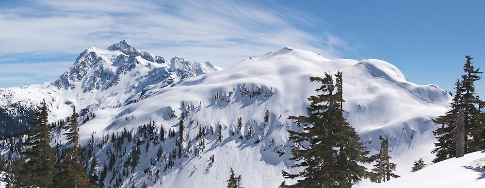 Mount Shuksan and Hemispheres - North Cascades, Washington