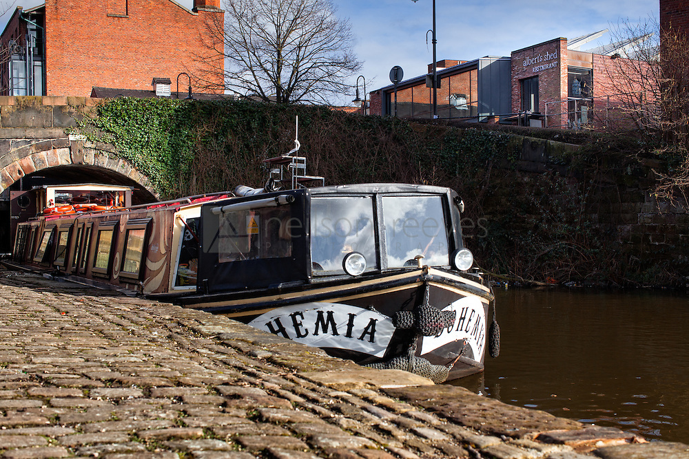 Dry Barge Party Boat Castlefield can be hired for all occasions. You can even hire it for football occasions as its root goes past Old Trafford Football club.