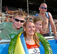 Friidrett<br /> Stockholm Marathon<br /> 09.06.2007<br /> Foto: Hasse Sjögren, Digitalsport<br /> NORWAY ONLY<br /> <br /> Kirsten Melkevik Otterbu, FIK BFG Fana