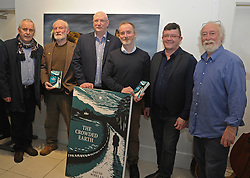 Pictured at the launch of  'The Crowded Path' by Dave Whelan at the Rolling Sun Book Festival were Liamy McNally, Charlie Keating, Simon Wall, Dave Whelan (Author), John Scahill and Tony Reidy.<br /> Pic Conor McKeown