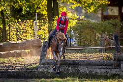 Vackier Laurens, BEL, Büter's Bioux<br /> LRV Ponie cross - Zoersel 2018<br /> © Hippo Foto - Dirk Caremans<br /> 28/10/2018