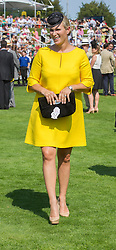 ara Phillips at Ladies Day at Glorious Goodwood in the UK <br /> Thursday, 1st August 2013<br /> Picture by i-Images<br /> File photo - Zara Phillips has given birth to a baby girl<br /> Zara Phillips has given birth to a baby girl at Gloucestershire Royal Hospital.<br /> Her husband and former England rugby player Mike Tindall was present at the birth.<br /> The weight of the baby was 7lbs 12oz, Buckingham Palace announced today.<br /> <br /> Picture filed Friday, 17th January 2014