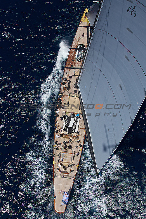 The SuperYacht Cup 2013, aerial images