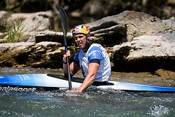 Joseph CLARKE of Great Britain during the Kayak Single (K1) Men Final race of 2019 ICF Canoe Slalom World Cup 4, on June 30, 2019 in Tacen, Ljubljana, Slovenia. Photo by Sasa Pahic Szabo / Sportida