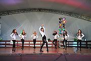 Photo of dancers at the Dublin Irish Festival in Dublin, Ohio.
