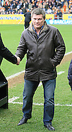 Boxer Ricky Hatton makes a guest appearance at half time  during the Barclays Premier League match at the KC Stadium, Kingston upon Hull<br /> Picture by Richard Gould/Focus Images Ltd +44 7855 403186<br /> 15/03/2014
