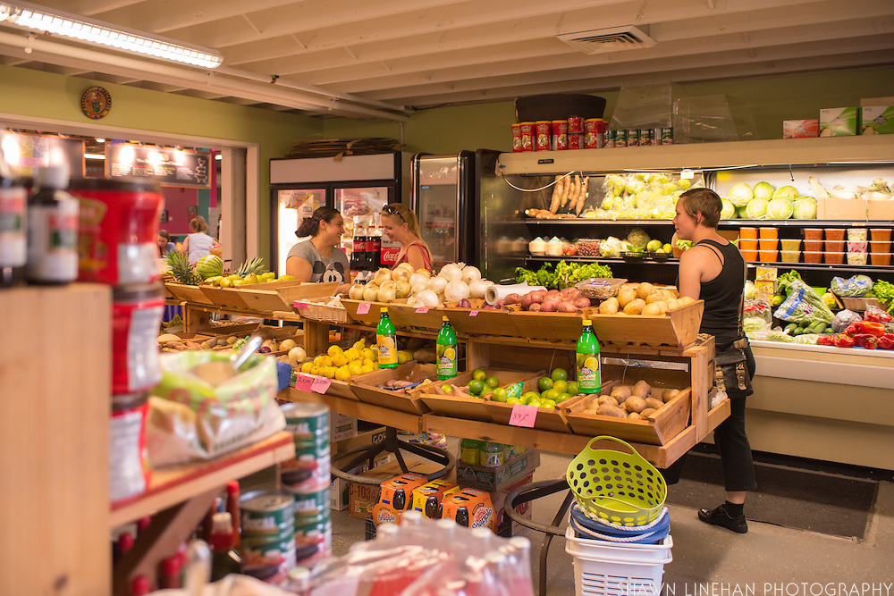 The Kaah Market and Grocery was the first business to open at the Portland Mercado in April 2015.