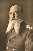 Alfred von Turpitz (1849-1930) German Admiral and Secretary of State for the Imperial Naval Office (1857-1916).