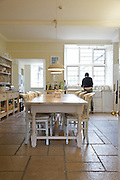 The Bakers' kitchen, Pickwell Manor, Georgeham, North Devon, UK.<br /> CREDIT: Vanessa Berberian for The Wall Street Journal<br /> HOUSESHARE