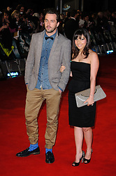 Darren McMullen and Roxanne Pallet attends The Woman in Black - World Premiere held at the Royal Festival Hall, London, Tuesday January 25, 2012. Photo By i-Images