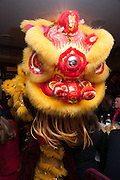 Chinese New Year dinner given by Sir David Tang. China Tang. Park Lane. London. 4 February 2013.