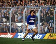 15.12.1985, Stadio Ferraris, Genova, Italy..Serie A, Sampdoria v SS Napoli..Roberto Mancini - Sampdoria.©JUHA TAMMINEN