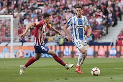 March 9, 2019 - Madrid, Madrid, Spain - Atletico de Madrid's Santiago Arias and CD Leganes's Mikel Vesga during La Liga match between Atletico de Madrid and CD Leganes at Wanda Metropolitano stadium in Madrid. (Credit Image: © Legan P. Mace/SOPA Images via ZUMA Wire)